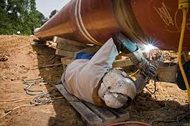 Crude Pipeline Welding Project