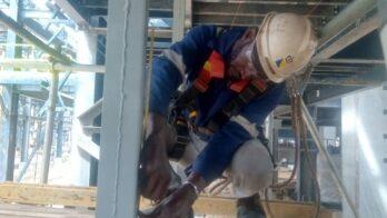Welding job 1